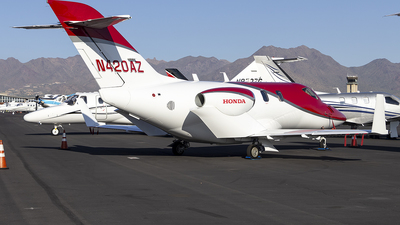N420AZ - Honda HA-420 HondaJet - Private