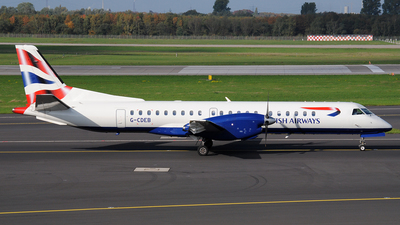 G-CDEB - Saab 2000 - BA CityFlyer (Eastern Airways)