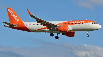 G-EZRJ - Airbus A320-214 - easyJet