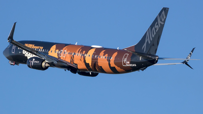 N492AS - Boeing 737-990ER - Alaska Airlines