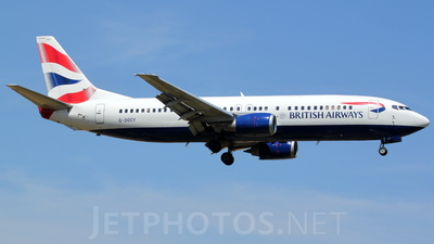 G-DOCY - Boeing 737-436 - British Airways