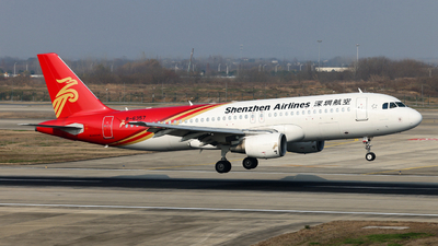 A picture of B6357 - Airbus A320214 - Shenzhen Airlines - © Jiaming