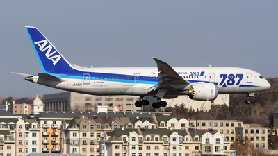 JA820A - Boeing 787-8 Dreamliner - All Nippon Airways (ANA)