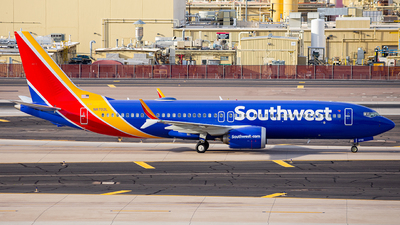 A picture of N8702L - Boeing 737 MAX 8 - Southwest Airlines - © Alexander Owen