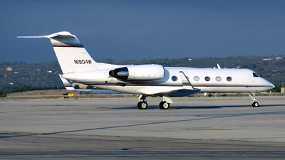 N1904W - Gulfstream G-IV(SP) - Private