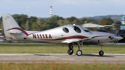 N111XA - Lancair Evolution - Private