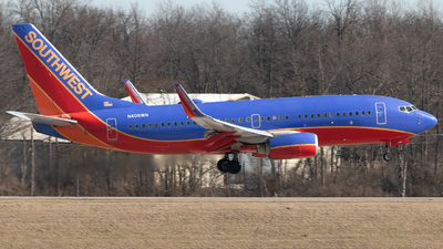 A picture of N406WN - Boeing 7377H4 - Southwest Airlines - © Erik Goodfellow