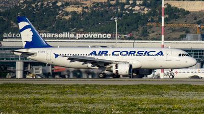 F-HZFM - Airbus A320-216 - Air Corsica