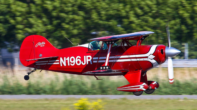 A picture of N196JR - Aerotek Pitts S1T Speical - [1019] - © BaszB