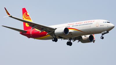 B-1389 - Boeing 737-8 MAX - Hainan Airlines