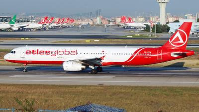 TC-ETM - Airbus A321-131 - AtlasGlobal