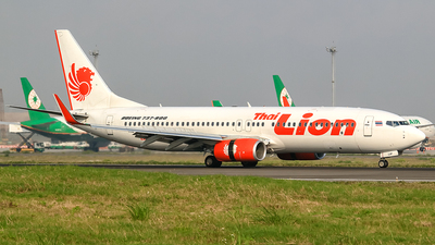 HS-LUP - Boeing 737-8GP - Thai Lion Air