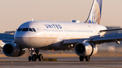 A picture of N851UA - Airbus A319131 - United Airlines - © Kevin Cargo