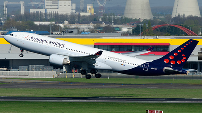 OO-SFT - Airbus A330-223 - Brussels Airlines