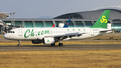 A picture of B6706 - Airbus A320214 - Spring Airlines - © Luo Chun Hui