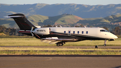 A picture of N595FX - Bombardier Challenger 350 - Flexjet - © Jamie West