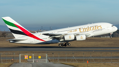 A picture of A6EDZ - Airbus A380861 - Emirates - © Gerhard Zant
