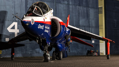 XW175 - Hawker Siddeley Harrier T.4N - United Kingdom - Royal Air Force (RAF)