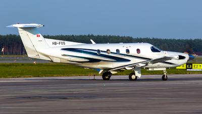 HB-FOS - Pilatus PC-12/45 - Lions Air