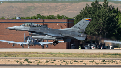 84-1322 - General Dynamics F-16D Fighting Falcon - United States - US Air Force (USAF)