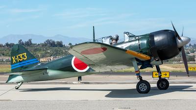 N712Z - Mitsubishi A6M3 Zero - Commemorative Air Force