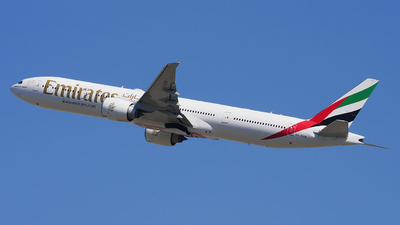 A picture of A6EPN - Boeing 77731H(ER) - Emirates - © Woody Wuthiwong