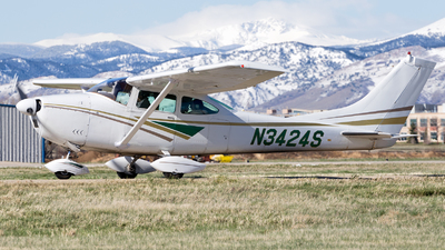 N3424S - Cessna 182G Skylane - Private