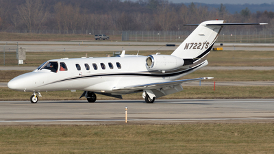N722TS - Cessna 525A CitationJet 2 - Private