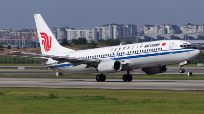 B-2657 - Boeing 737-89L - Air China