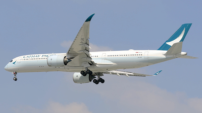 B-LRR - Airbus A350-941 - Cathay Pacific Airways
