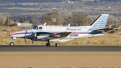 A picture of N118MD - Beech 99 Airliner - Alpine Air Express - © David Lee