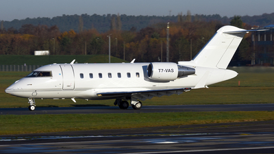 T7-VAS - Bombardier CL-600-2B16 Challenger 605 - TAG Aviation