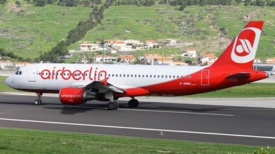 D-ABNU - Airbus A320-214 - Air Berlin