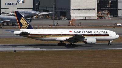 9V-SQK - Boeing 777-212(ER) - Singapore Airlines