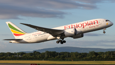 A picture of ETAOO - Boeing 7878 Dreamliner - Ethiopian Airlines - © Conor McGeehan