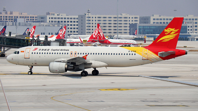 A picture of B6769 - Airbus A320214 - Capital Airlines - © ZUCK-ZX
