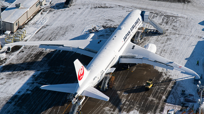 JA877J - Boeing 787-9 Dreamliner - Japan Airlines (JAL)