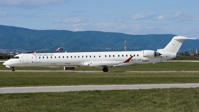 EC-LPN - Bombardier CRJ-1000 - Croatia Airlines (Air Nostrum)