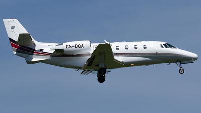 A picture of CSDQA - Cessna 560XLS Citation Excel - NetJets - © Maximilian Haertl