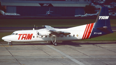 PT-LAK - Fokker F27-500 Friendship - TAM Linhas Aéreas