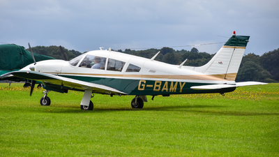 G-BAMY - Piper PA-28R-200 Cherokee Arrow II - Private