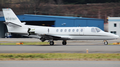 N561WF - Cessna 560 Citation V - Private