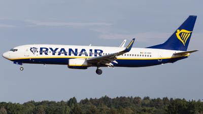 A picture of EIEBP - Boeing 7378AS - Ryanair - © RobertLN