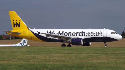 G-MRJK - Airbus A320-214 - Monarch Airlines
