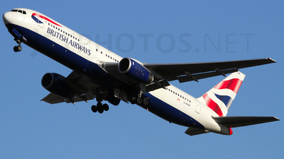 G-BNWR - Boeing 767-336(ER) - British Airways