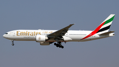A picture of A6EWF - Boeing 77721H(LR) - Emirates - © Syed Zohaib Zaidi