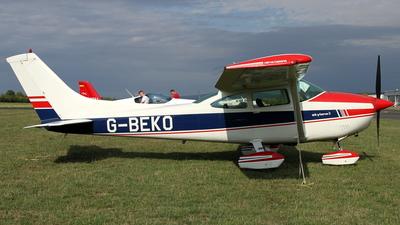 A picture of GBEKO - Cessna F182Q Skylane - [0037] - © Daniel Schwinn
