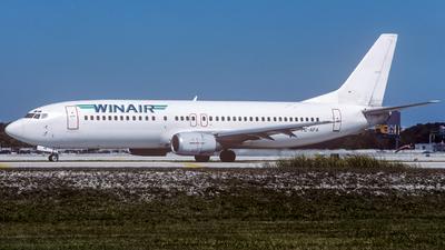 TC-AFA - Boeing 737-4Q8 - WinAir Airlines
