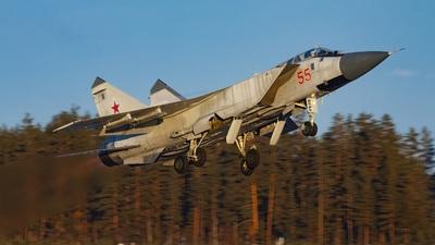55 - Mikoyan-Gurevich MiG-31BM Foxhound - Russia - Air Force
