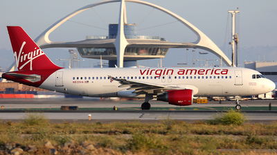 N839VA - Airbus A320-214 - Virgin America